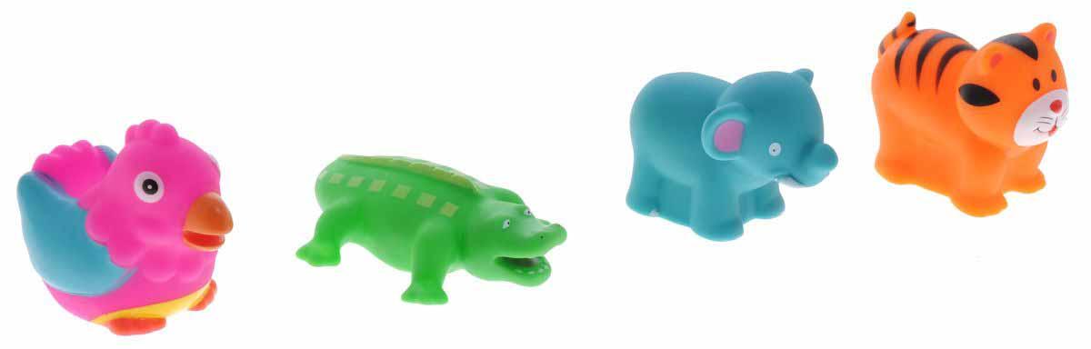 Игрушки для ванны - ДжунглиРезиновые игрушки<br>Игрушки для ванны - Джунгли<br>