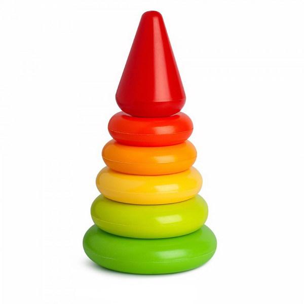 Купить Пирамида - Малютка, 19 см, Рославльская игрушка