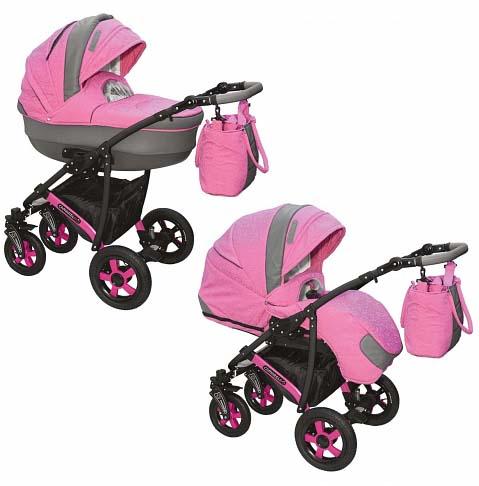 Детская коляска – Camarelo Carmela 2 в 1, CR-24Детские коляски 2 в 1<br>Детская коляска – Camarelo Carmela 2 в 1, CR-24<br>