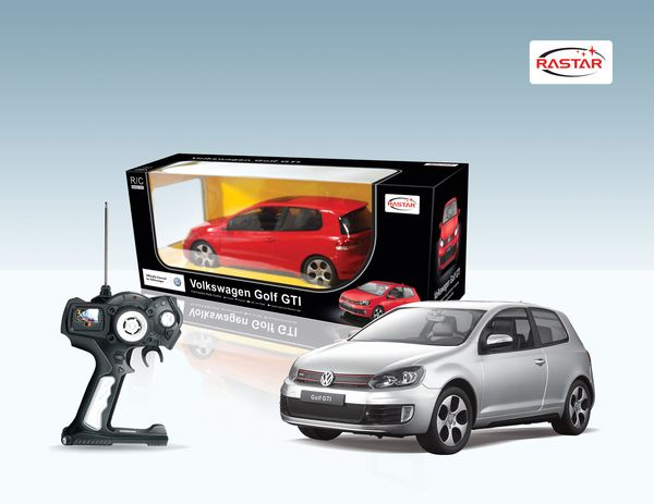 Машина Golf GTI на радиоуправлении, 1:12Машины на р/у<br>Машина на радиоуправлении Volkswagen Golf GTI<br>Размер машины - 40 см.<br>
