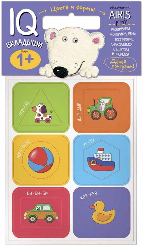 Набор IQ-вкладышей Мягкие игры - Цвета и формыРазвивающие пособия и умные карточки<br>Набор IQ-вкладышей Мягкие игры - Цвета и формы<br>