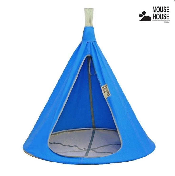 140-02 Гамак Mouse House - Бирюза темная, диаметр 140 смДомики-палатки<br>140-02 Гамак Mouse House - Бирюза темная, диаметр 140 см<br>