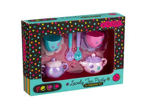 Набор посудки MeLaLa Чудесное чаепитиеАксессуары и техника для детской кухни<br>Набор посудки MeLaLa Чудесное чаепитие<br>