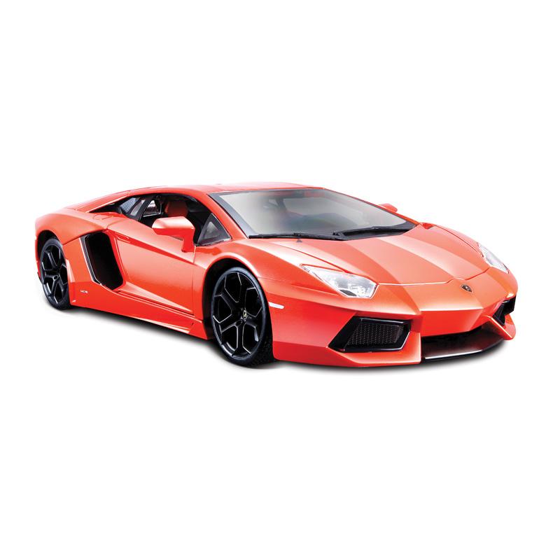 Bburago Коллекционная металлическая машинка Lamborghini Aventador LP700-4, масштаб 1: 18