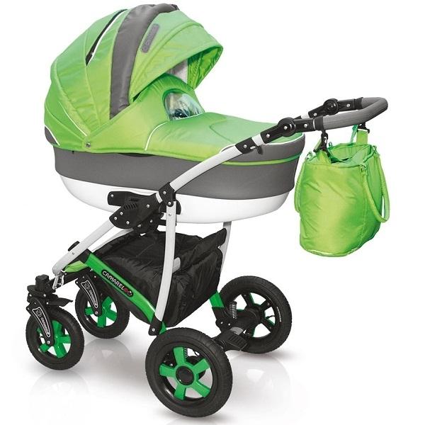 Детская коляска Camarelo Carmela 2 в 1, цвет CR_08Детские коляски 2 в 1<br>Детская коляска Camarelo Carmela 2 в 1, цвет CR_08<br>