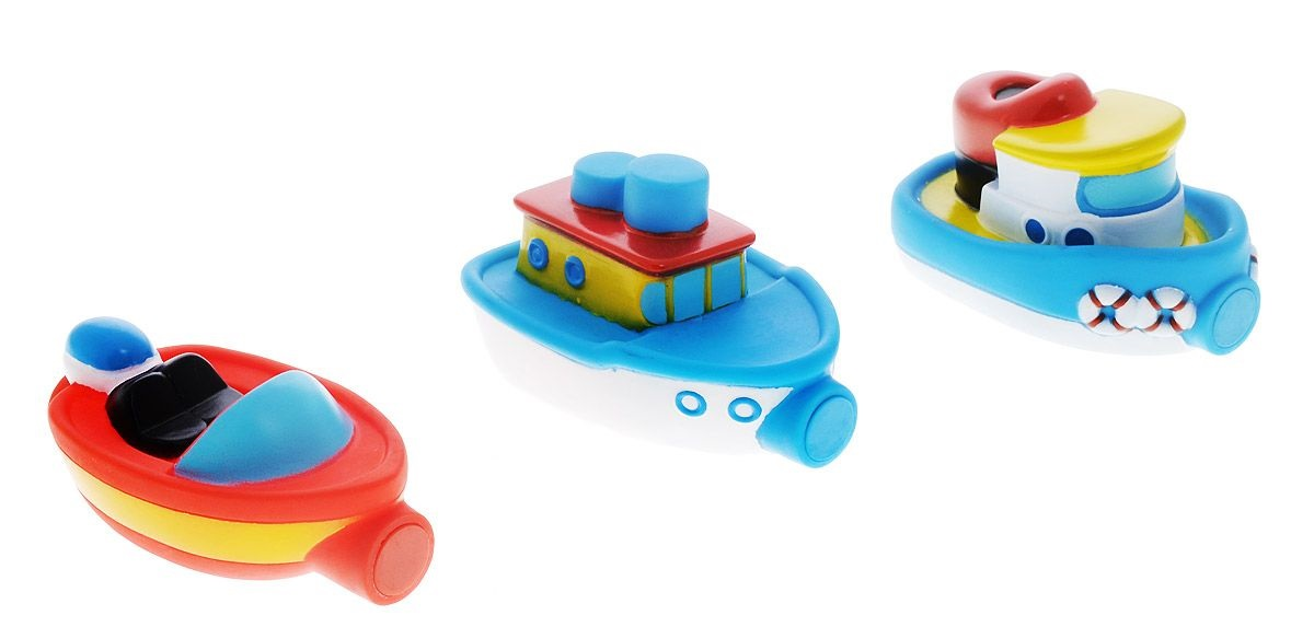 Игрушка для ванны - Магнитные лодочки, от 2 лет