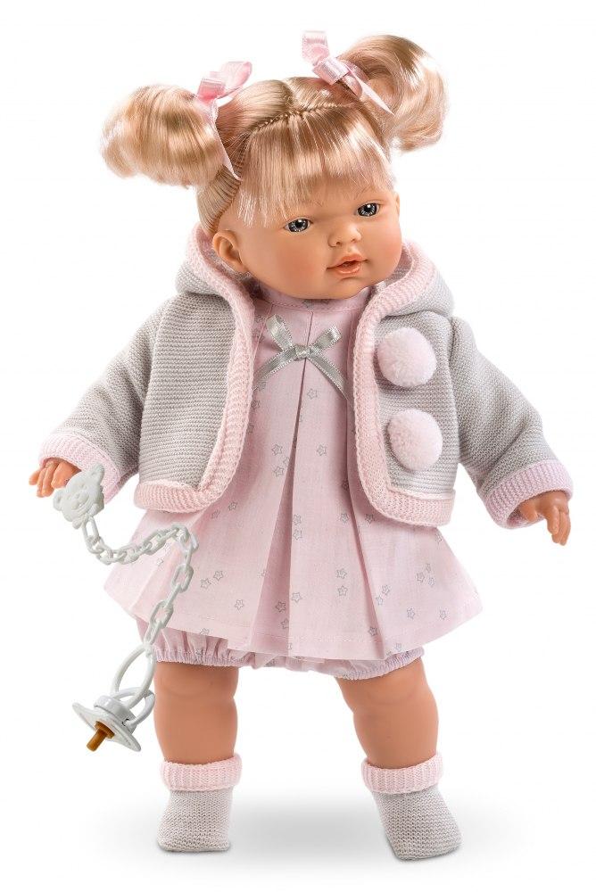 Купить Кукла Роберта, озвученная, 33 см., Llorens Juan