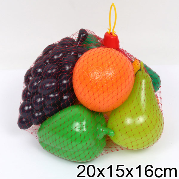 Игровой набор - Фрукты и овощи, в сетке, Спектр  - купить со скидкой