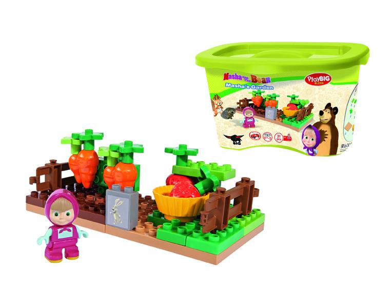 Конструктор Маша и Медведь – ОгородМаша и медведь игрушки<br>Конструктор Маша и Медведь – Огород<br>