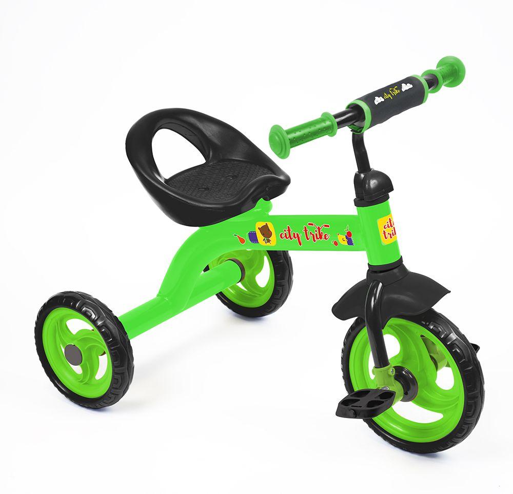 Велосипед City trike СТ-13, зеленыйВелосипеды детские<br>Велосипед City trike СТ-13, зеленый<br>