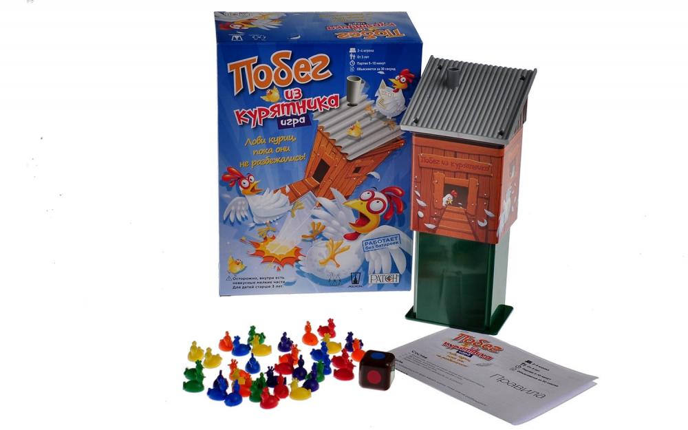 Купить Игра настольная - Побег из курятника с 3-х лет, Magellan