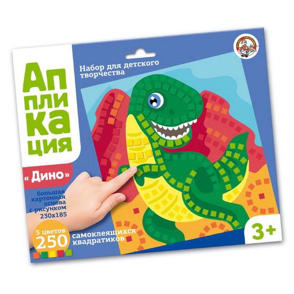 Набор для творчества - Аппликация - Динозавр фото