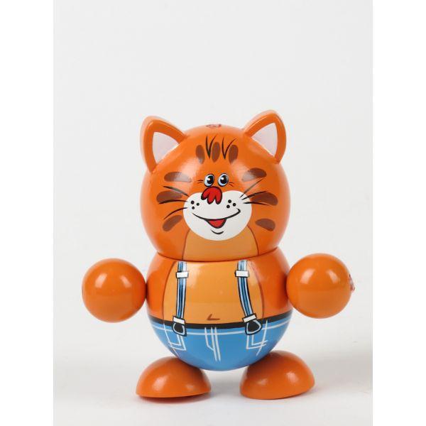 Играем вместе Деревянная игрушка – кот Василий