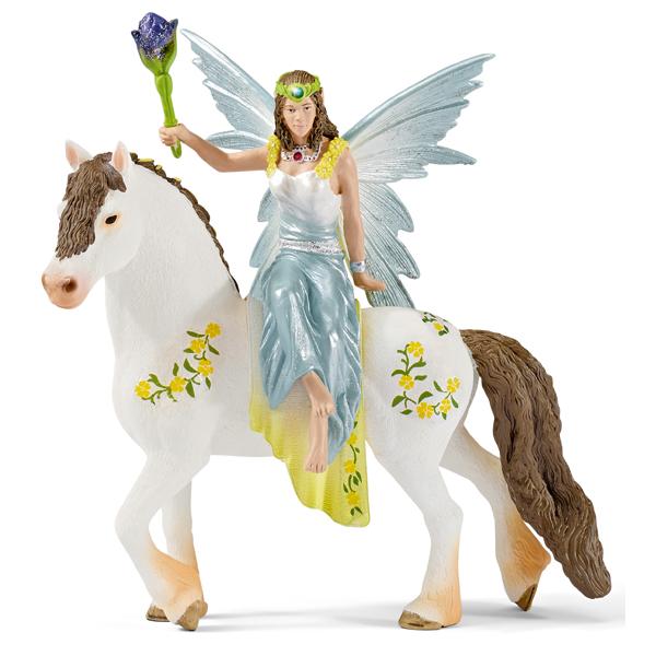 Набор фигурок - Эйла на лошадиМифические существа<br>Набор фигурок - Эйла на лошади<br>