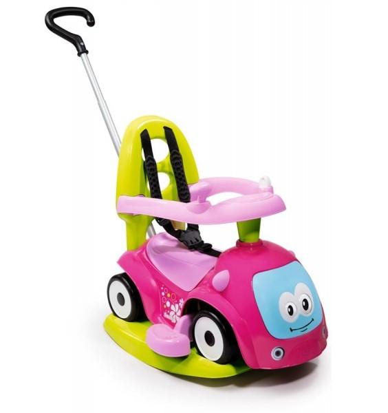 Каталка-качалка трансформер из серии Maestro 2, розоваяМашинки-каталки для детей<br>Каталка-качалка трансформер из серии Maestro 2, розовая<br>