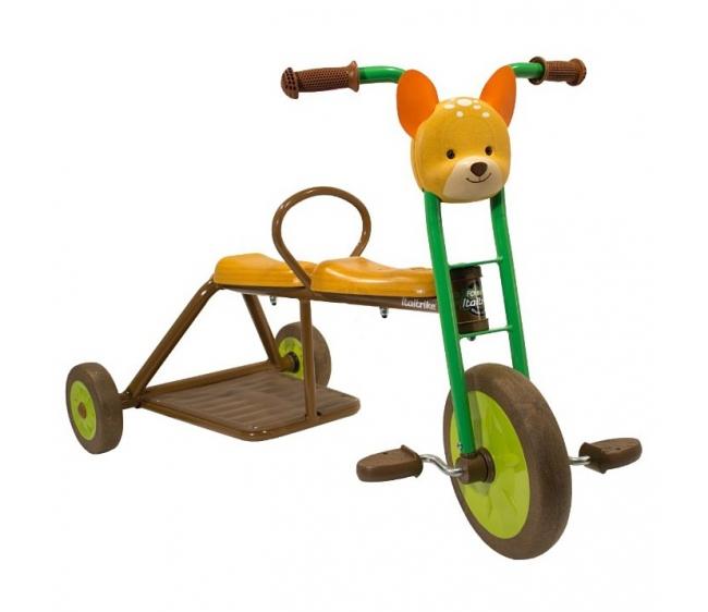 Трехколесный велосипед Олененок, двуместный