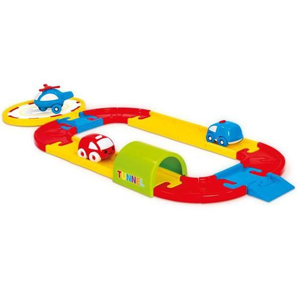 Купить Игровой набор - Круговая дорога с машинками, 24 детали, Dolu