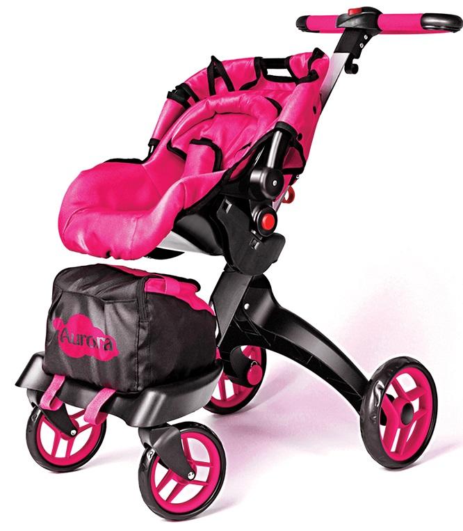 Многофункциональная прогулочная коляска-трансформер для кукол 12 в 1 Buggy Boom Aurora 9005