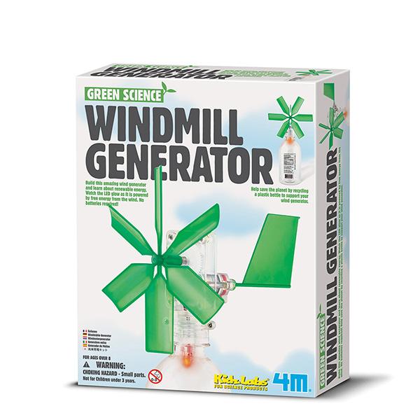 Научный набор Green Science - Ветряной генераторЮный инженер<br>Научный набор Green Science - Ветряной генератор<br>