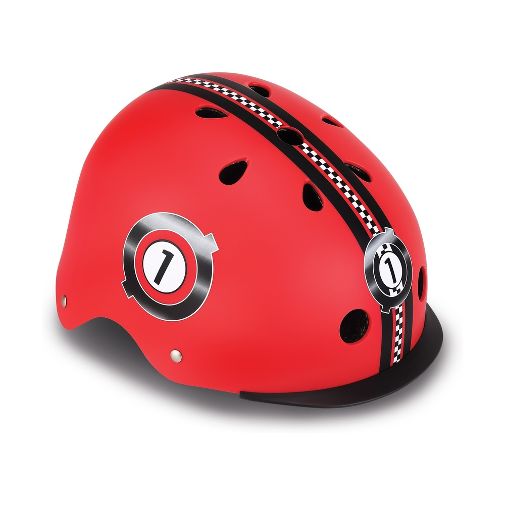 Шлем - Elite Lights, XS/S, 48-53 см, красный фото