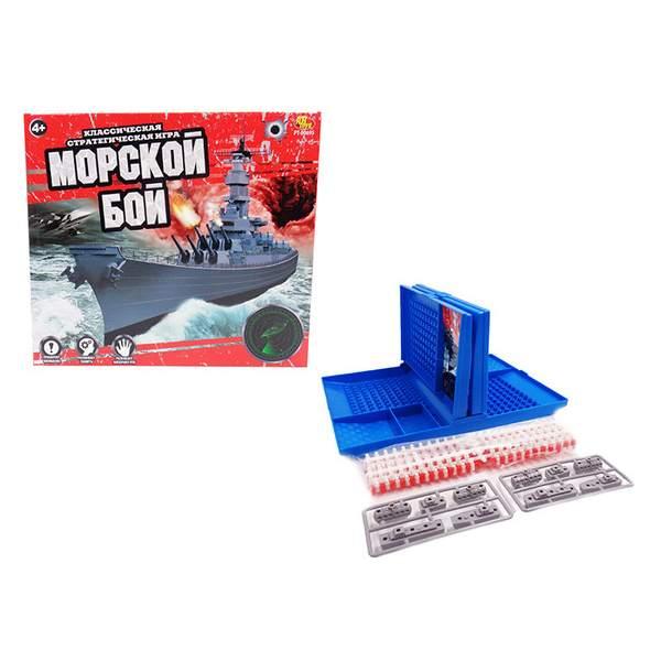 Игра настольная - Морской бой, в коробкеМорской бой<br>Игра настольная - Морской бой, в коробке<br>