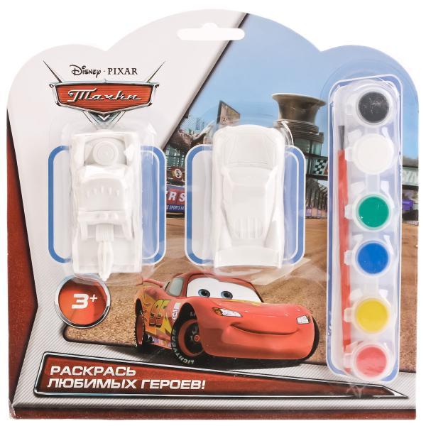 Набор для раскрашивания - 2 машинки из серии Disney Тачки и краскиCARS 3 (Игрушки Тачки 3)<br>Набор для раскрашивания - 2 машинки из серии Disney Тачки и краски<br>