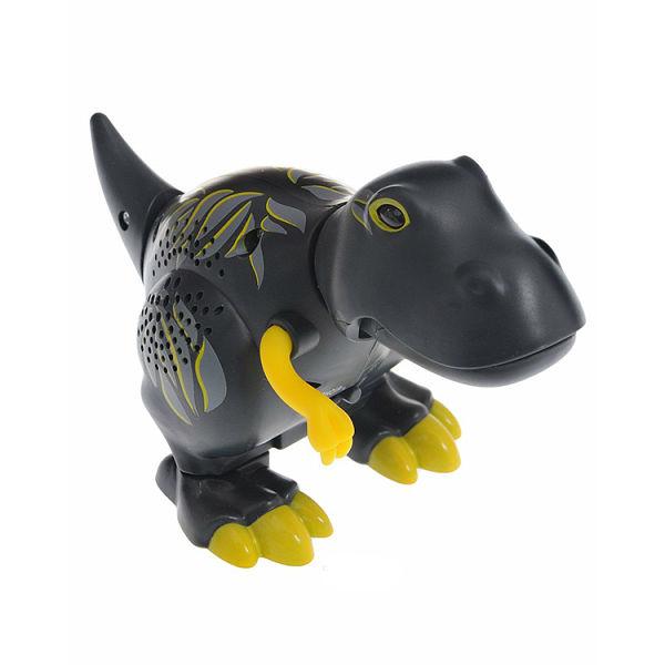Динозавр Terry, черный с желтыми лапамиИнтерактивные животные<br>Динозавр Terry, черный с желтыми лапами<br>