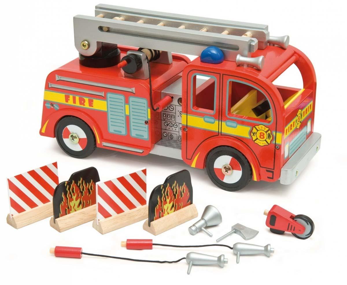 Le Toy Van Игровой набор Пожарная машинаПаровозики и машинки<br>Le Toy Van Игровой набор Пожарная машина<br>