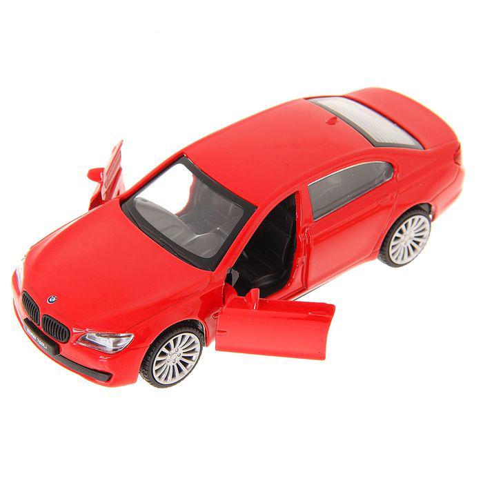 Машина металлическая инерционная - BMW 760