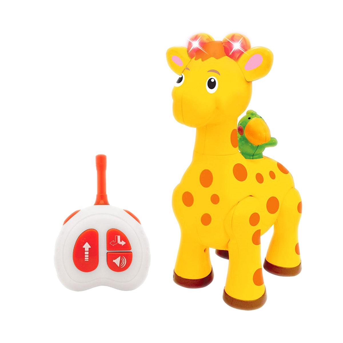 Развивающая игрушка Жираф с пультом управленияРазвивающие игрушки KIDDIELAND<br>Развивающая игрушка Жираф с пультом управления<br>