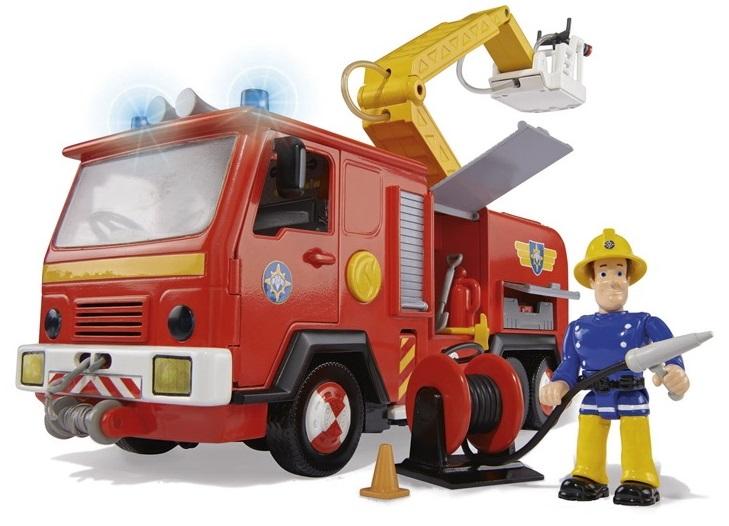 Игровой набор - Пожарный Сэм - Пожарная машина с 2 фигуркамиПожарный СЭМ<br>Игровой набор - Пожарный Сэм - Пожарная машина с 2 фигурками<br>