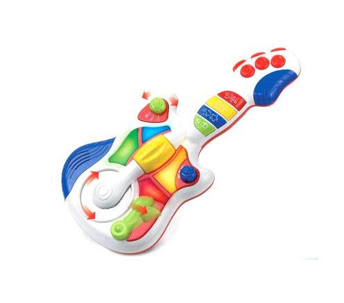 Детская музыкальная гитара, свет и звукГитары<br>Детская музыкальная гитара, свет и звук<br>