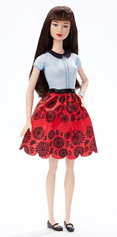 Кукла Barbie Игра с модой - Азиатка в красной юбкеКуклы Barbie (Барби)<br>Кукла Barbie Игра с модой - Азиатка в красной юбке<br>