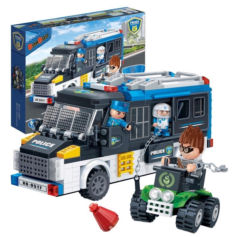 Конструктор - Полицейская машина, 325 деталейКонструкторы BANBAO<br>Конструктор - Полицейская машина, 325 деталей<br>