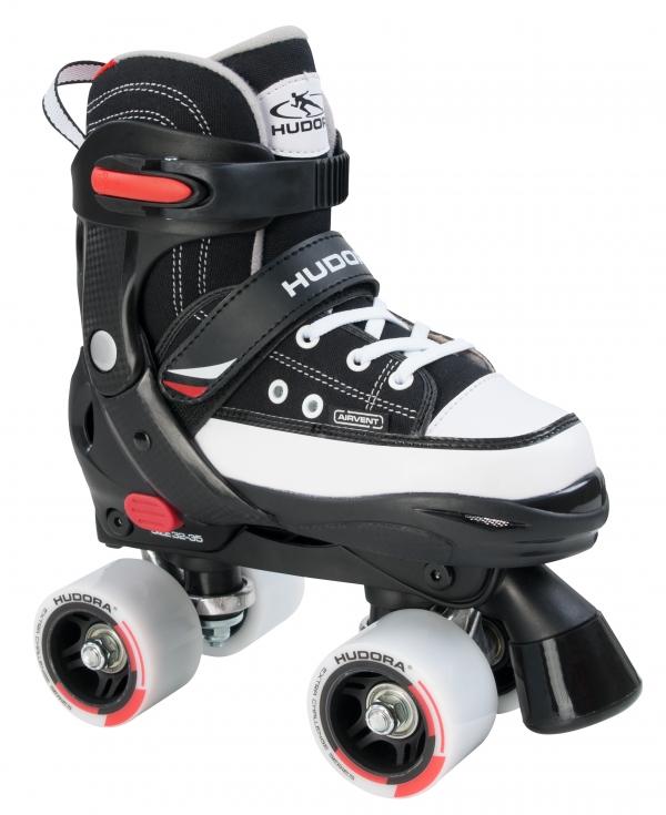 Купить Ролики Roller Skate, размер 36-39, черные, Hudora