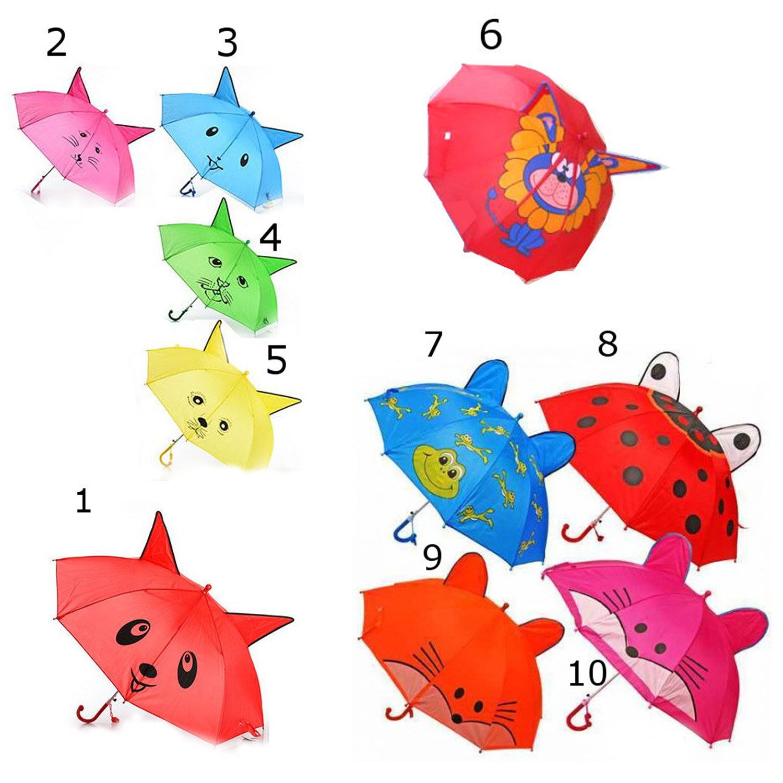 Зонт со свистком и ушками, диаметр 75 смДетские зонты<br>Зонт со свистком и ушками, диаметр 75 см<br>