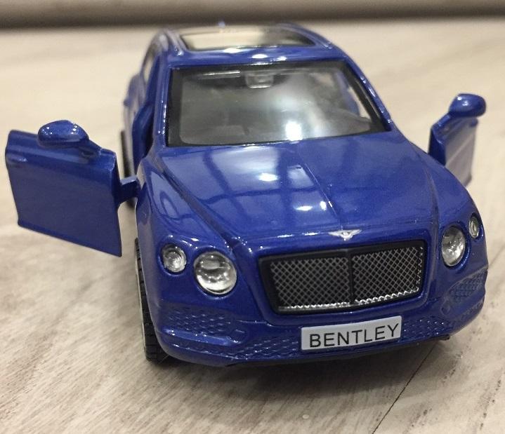 Металлическая инерционная машина - Bentley Bentayga, 1:45 от Toyway