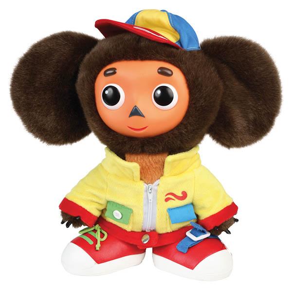 Купить Интерактивная мягкая игрушка – Чебурашка учит одеваться, озвученный, 28 см., Мульти-Пульти