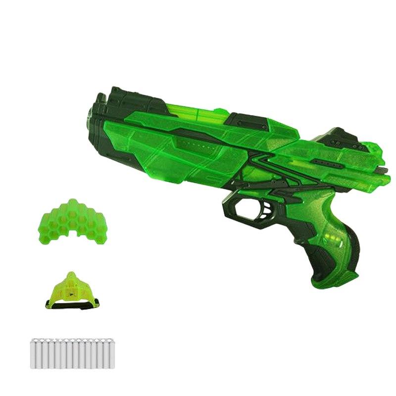 Мегабластер, в наборе 14 мягких снарядов и аксессуары, светАвтоматы, пистолеты, бластеры<br>Мегабластер, в наборе 14 мягких снарядов и аксессуары, свет<br>