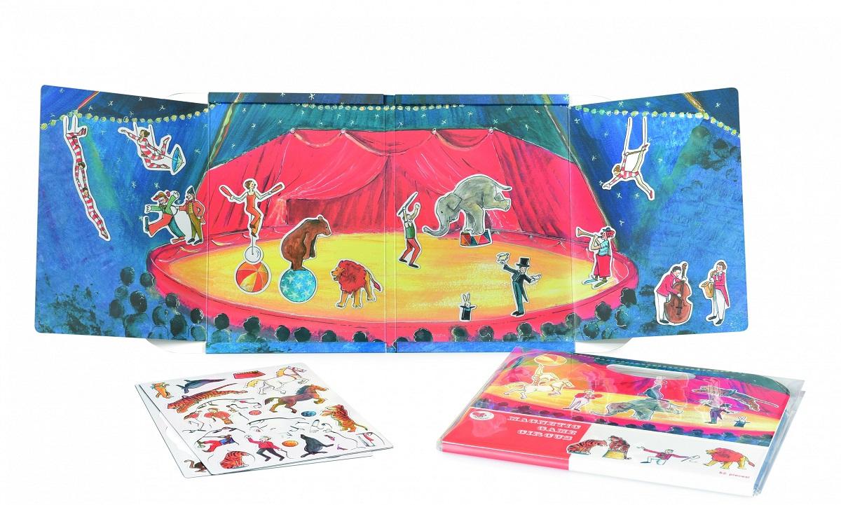 Магнитная игра – Цирк, с фигурками фото