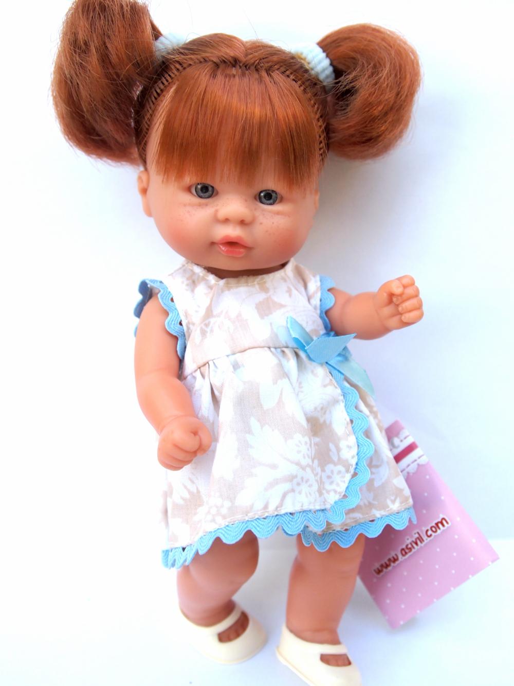 Кукла – Пупсик с веснушками, 20 смКуклы ASI (Испания)<br>Кукла – Пупсик с веснушками, 20 см<br>