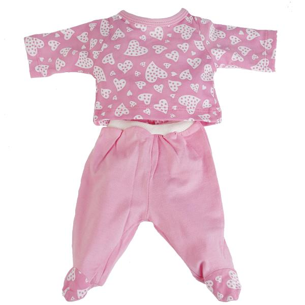 Костюм для кукол ростом 40-42 см., цвет розовыйОдежда для кукол<br>Костюм для кукол ростом 40-42 см., цвет розовый<br>