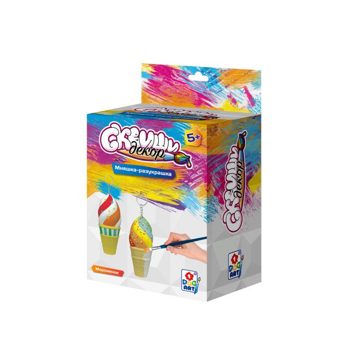 Купить Набор для детского творчества из серии Сквиши Декор – Мороженое, 1TOY