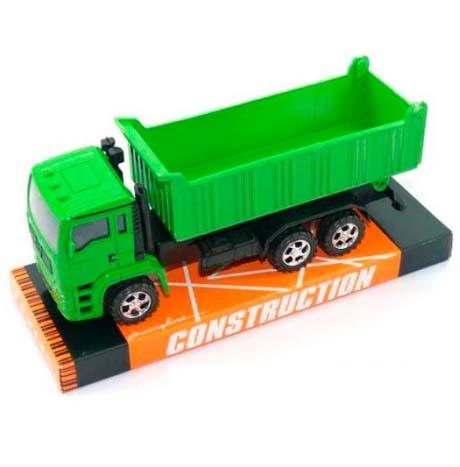 Купить Инерционная игрушка - Самосвал, зеленый, JUNFA TOYS