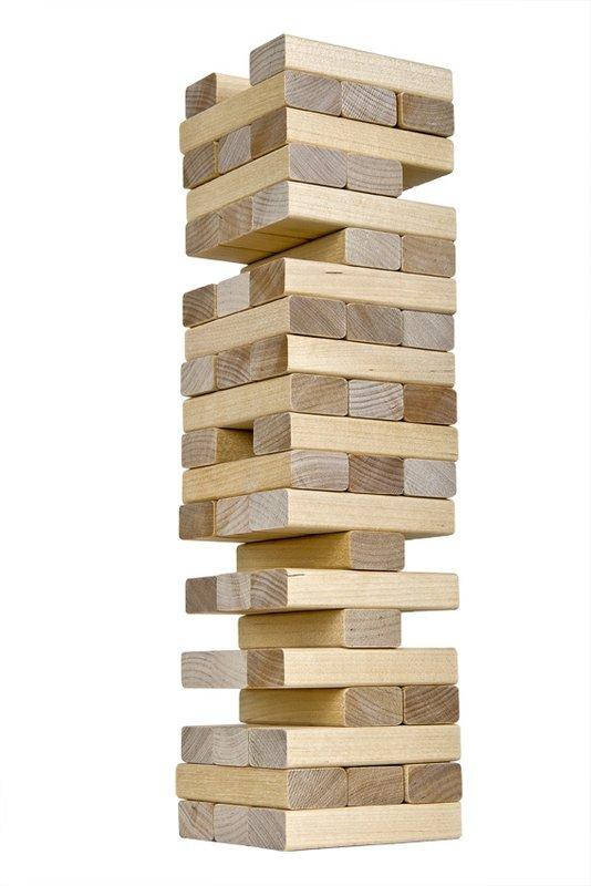 Настольная игра -  Падающая башняДженга<br>Настольная игра -  Падающая башня<br>