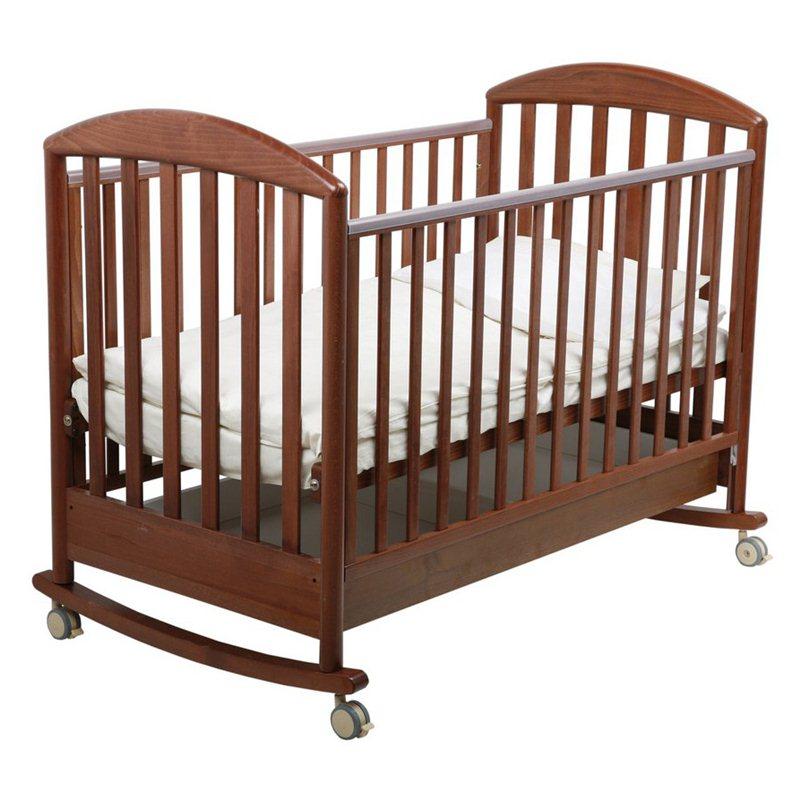 Детская кроватка Джованни, орех темныйДетские кровати и мягкая мебель<br>Детская кроватка Джованни, орех темный<br>