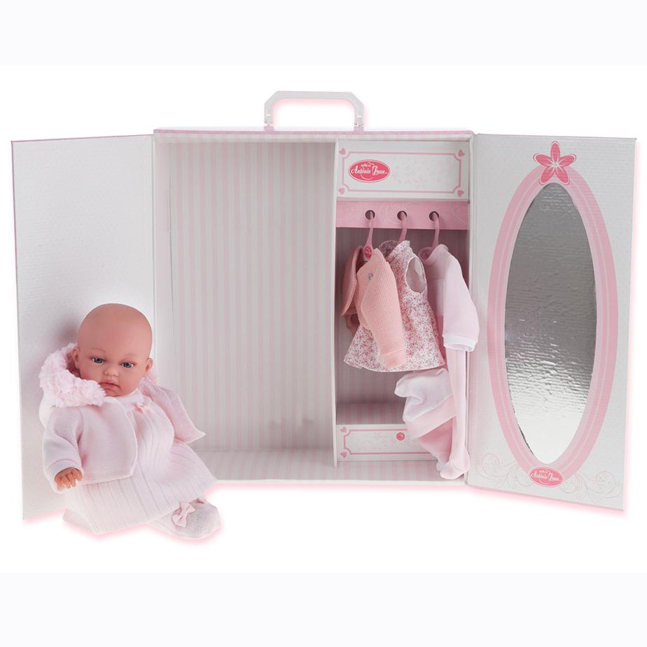Кукла Лория в розовом, 34 см.Куклы Антонио Хуан (Antonio Juan Munecas)<br>Кукла Лория в розовом, 34 см.<br>