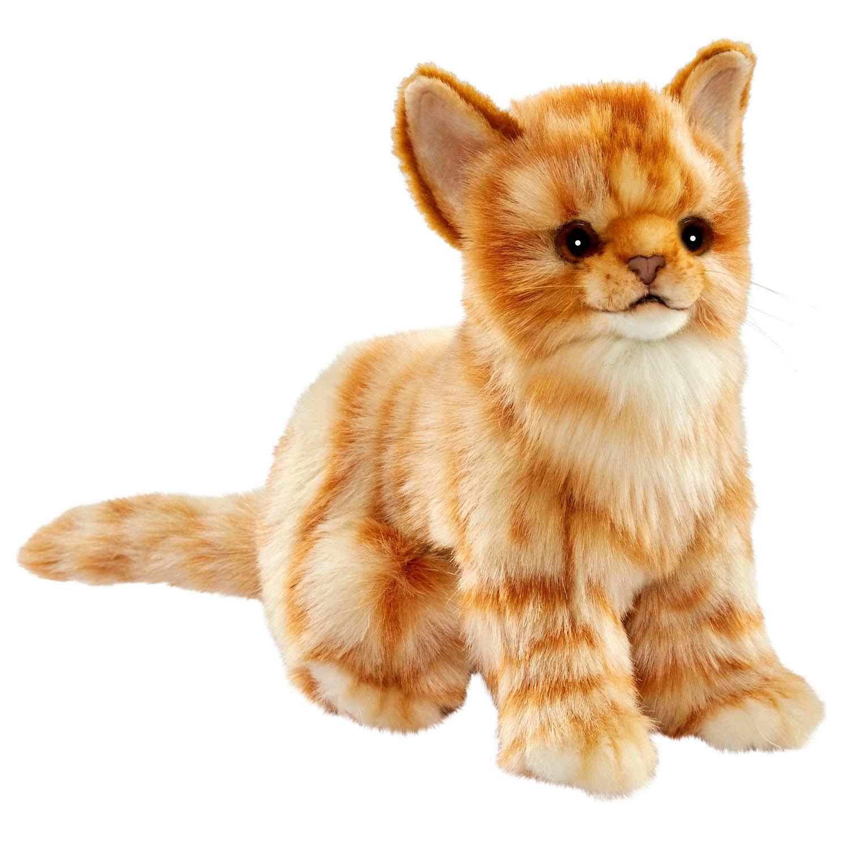 Купить Мягкая игрушка – Котенок, бежевый, 19 см, Hansa