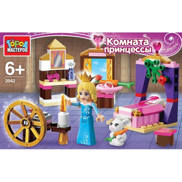Конструктор – Комната Принцессы, с фигуркой Город мастеров