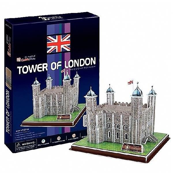 3D puzzles. Детские объёмные пазлы Лондонский ТауэрПазлы объёмные 3D<br>3D puzzles. Детские объёмные пазлы Лондонский Тауэр<br>